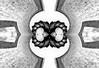 infinito... (ojoadicto) Tags: abstract abstracto digitalmanipulation manipulaciondefotos infinito blancoynegro blackandwhite
