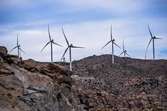 Pinwheels (iadMedia) Tags: pinwheel wind energy generators mountains mexicali mexico rumorosa