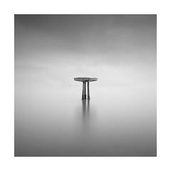 /|\ (Nick green2012) Tags: square minimal seascape longexposure tripod mist