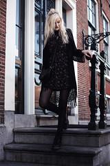 Faye Amsterdam #1 (moonlightbohemian) Tags: amsterdam netherlands city travel traveler traveling traveller travelling boho bohemian outfit ootd blogger fashionblogger fashionphotography gypset natural light