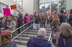 Women's March, Ukiah, California
