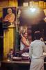 Karakoram Hwy, Sept 1986.  Shopkeeper (johnjackson808) Tags: fujifilmxt1 hulkhogan karakoramhighway pakistan film mountains people shopkeeper streetphotography