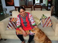 IMG_3693 (mohandep) Tags: families friends bangalore visit shaffers kalyan kavya anjana derek people