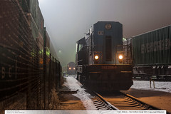 742.209-0 + 742.105-0 | trať 331 | Lípa nad Dřevnicí (jirka.zapalka) Tags: train trat331 cdcargo lipanaddrevnici metrans winter snow stanice rada742 czech