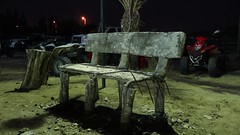 Broken Chair (qeighty) Tags: kuwait q8 broken color colour colorsinourworld chair outdoor outdoors nights night eosm eosm3 eosm5 canoneosm3 canoneosm5 canon canoneos ngc photography photoart photo
