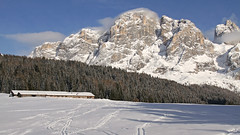 Val Veneggia and Mt. Mulaz (Dolomites) (ab.130722jvkz) Tags: italy trentino alps easternalps dolomites palagroup mountains winter