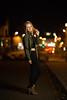 city at night II (Michael Kremsler) Tags: model shooting girl portrait fashion street streetfashion jeans jacket bellytop glasses blond lights bokeh city outdoor ankleboots night