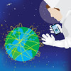 Internet (devine-studios) Tags: internet space cell phone mobile app astronaut communication satelite