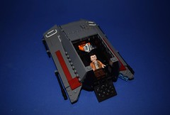 Hovercraft - Interior (EliteTC) Tags: lego starwars vehicle war rebel hovercraft