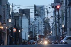 nagoya16527 (tanayan) Tags: urban town cityscape aichi nagoya japan nikon v3 road street alley 愛知 名古屋 日本 evening