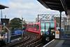 DLR, Limehouse, London. (Jungle Jack Movements) Tags: london englang united kingdom great britain gb uk dlr docklands light rail limehouse 151 transport station travel tram trolley shard platform