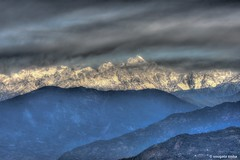 Mighty Kanchenjunga.. (Sougata2013) Tags: ramiteyviewpoint sillerigaon darjeeling india mightykanchenjunga kanchenjungarange kanchenjunga mountkanchenjunga cloudscape landscape himalaya himalayanrange nature nikond7200 hdr