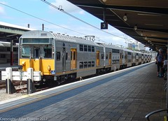 Sydney Trains - Dying breed - S-sets S141 and S61 stand at Central (john cowper) Tags: sset s141 s61 centralrailwaystation sydneytrains suburbanrailways sydney newsouthwales