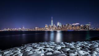 Lower Manhattan from Jersey City
