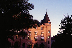 The Grand Hotel (anna-lenaR) Tags: lund sweden hotel sunset film