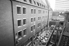 demolition of the YMCA (obliquepanic) Tags: ec1 fx london nikon nikond810 ymca buildings construction demolition fullframe england unitedkingdom