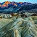 Tortured Terrain (garshna) Tags: deathvalleynationalpark zabriskiepoint geology nationalpark sunset mountains sky hills