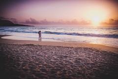 No words necessary (DavidSmolik) Tags: sunset love couple sea beach ocean beautiful people lifestyle photography vintage grain mood sicily cefalu italy fujifilm samyang 21mm moment