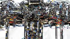 Fusion of human and computer (Bookriver.) Tags: fusion human computer art japan abstract surreal bookriver