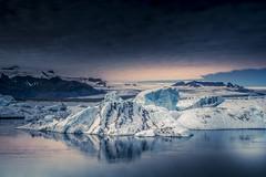 Nordic enchantment (Sizun Eye) Tags: jökulsárlón lagoon glacial glacier vatnajökull iceberg scenery nordic scandinavia iceland islande reflections sizuneye tamron2470mmf28 tamron 2470mm nikond750 nikon d750 ice gettyimages