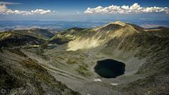 Ice Lake in Rila Mountain (Toni Terziev) Tags: mountains landscape lakes peak 500px