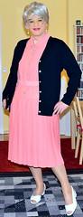 Ingrid020146 (ingrid_bach61) Tags: dress skirt mature cardigan pleated strickjacke kleid faltenrock