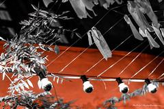 (Nafsika Chatzitheodorou) Tags: red lamp night canon out lens 50mm lights nightout poli polis 2015 palias xanthi 650d ksanthi palia ξανθη πολη γιορτεσ yongnuo παλια giortes παλιασ