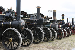 Steam Traction Engines (Dave_S.) Tags: uk gb united kingdom great britain england english british dorset steam fair nikon d7200 traction engine engines line lined up row group fowler john twop gdsf greatdorsetsteamfair vehicle outdoor ulos steamengine tractionengine
