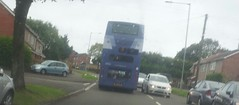 A little off route...... (Woolfie Hills) Tags: volvo cymru dd eow firdt w814