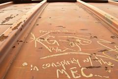Maine Central carman tags (CN Southwell) Tags: railroad man car central maine rr tags freight carman
