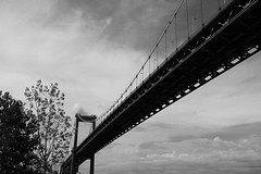 Bridge (wachtervincent) Tags: bridge white black noir blanc bordeau aquitaine pontdaquitaine bdx