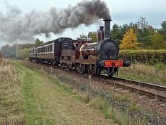 Bo'ness and Kinneil Railway Autumn Steam Gala 25th Oct 2015 (penlea1954) Tags: autumn 6 black last scotland war 5 no victorian railway loco steam v 20 wd gala 19 department coaches boness appearance caledonian morayshire ncb furness kinneil 44871 j94 75254 d49 62712