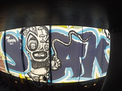 SOAK (TRUE 2 DEATH) Tags: railroad train graffiti tag graf trains soak railcar railways railfan freight tio freighttrain floater rollingstock ebs benching freighttraingraffiti