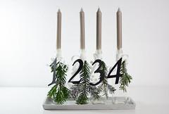 Adventskranz-Flaschen_2 (_windprincess) Tags: black diy handmade adventwreath adventskranz doityourself simpel skandinavisch skandinavian