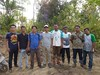 Samboja staff and volunteers gathered to help fight fires (Animal People Forum) Tags: project indonesia fire palm borneo oil firefighting fighting palmoil samboja lestari sambojalestariproject