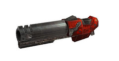 Quake III Arena - Rocket Launcher Free Paper Model Download (PapercraftSquare) Tags: rocketlauncher quakeiiiarena