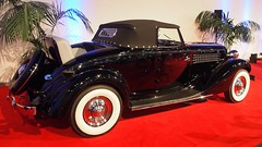 1936 Auburn 852 Cabriolet 2 (Jack Snell - Thanks for over 26 Million Views) Tags: sf auto show ca 58th wallpaper art cars wall 1936 vintage paper san francisco display auburn center international collectible moscone cabriolet 852 excotic jacksnell707 jacksnell accadomy