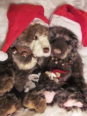 Twoddle, Graeme, Ah Choo and Sneeze charlie bears (marlenevr) Tags: bears charlie graeme twoddle