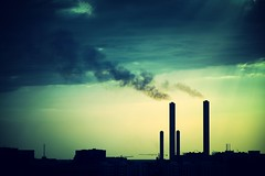 Industrial (mostaphaghaziri) Tags: city light cloud sun plant clouds nikon factory d pollution saudi arabia jeddah silouhette desalination 7200 d7200