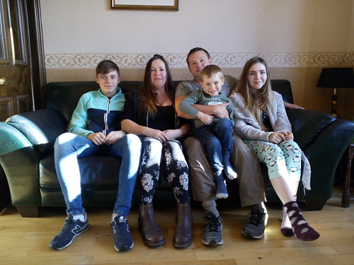 Ma famille adorée d'Edinbourg!!!
