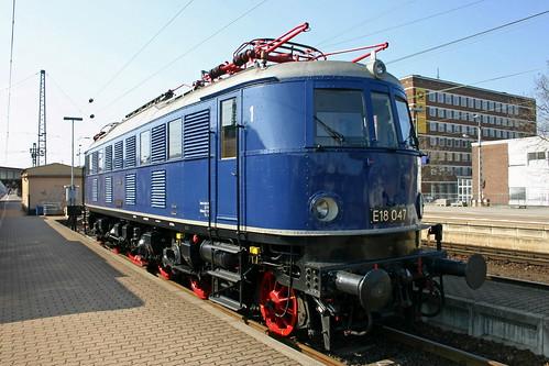 DB E18 047 Trier Hbf
