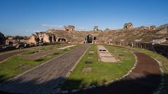 The Arena - Battleground of Gladiators (silverfox_hwz) Tags: campania capua santamariacapuavetere amphitheatre anfiteatro ancientcapua gladiator gladiatormuseum