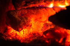 Friday evening fireplace. (J. Pelz) Tags: fireplace glow warm burning wood hot