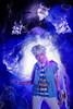 Bakura (bdrc) Tags: asdgraphy bakura ryou yugioh cosplay girl portrait night smoke edit manipulation spirit soul blue acg kaori lala sony a6000 sigma 30mm prime flash