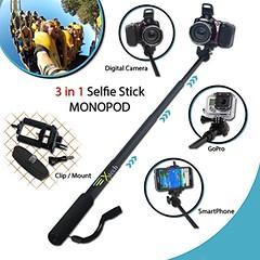 Xtech® Premium 3 in 1 Handheld MONOPOD Pole for GoPro HERO Cameras, SMARTPHONES and Digital Cameras including Nikon Coolpix L840, L830, L820, L330, L320, L620, L610, P7800, P7700, P4, P3, AW130, AW120, AW110, AW100, L810, L32, L31 L30, L28, L26 (saidkam29) Tags: aw100 aw110 aw120 aw130 cameras coolpix digital gopro handheld hero including l100 l110 l120 l310 l320 l330 l610 l620 l810 l820 l830 l840 monopod nikon p310 p340 p510 p7700 p7800 pole premium s200 s205 s210 s500 s510 s520 s600 s700 s750 smartphones xtech