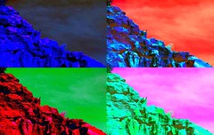 Pop rocks in the outback (krillmerma) Tags: outback pop art rocks colours color bright warhol andy
