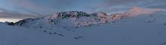 Panorama Salvamont Station Bucura (Pianocchio) Tags: retezat rumänien karpaten carpathian mountain romania national park gentiana bucura peleaga snow winter mountainering mountaineering