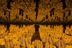 All the Eternal Love I Have for the Pumpkins - Yayoi Kusama (VincenzoGuasta) Tags: all eternal love i have for pumpkins yayoi kusama rome chiostro del bramante mostra museo opera installazione arte io