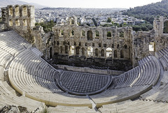 IMA_9982r  The Odeon of Herodes Atticus (foxxyg2) Tags: history greece athens herodesatticus theatre odeon