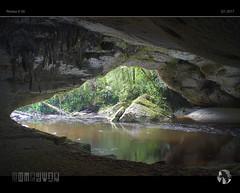Moria Arch I (tomraven) Tags: arch limestone cave river kahurangi water green rainforest tomraven aravenimage q12017 pentax k50 oparara opararabasin